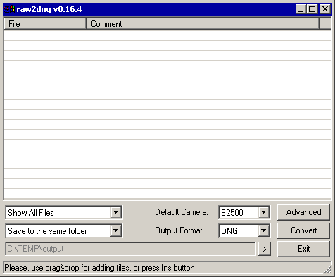 Dng File Converter